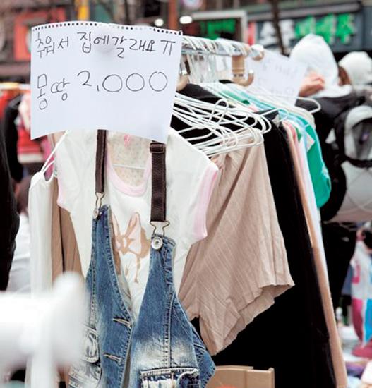 旧衣服买卖出进口