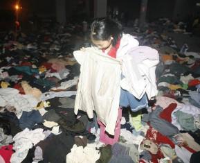 国内每年旧衣服产量相当于2400万吨原油