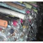 回收处理的库存布料