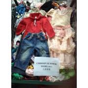 大量出售AAA级二手童装男童女童旧夏装出口非洲东南亚阿拉伯