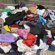 旧衣服出口和回收
