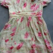 出口用夏季旧衣服,纱料连衣裙