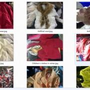 长期供应优质二手旧冬衣