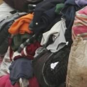 长期供应旧衣服通货