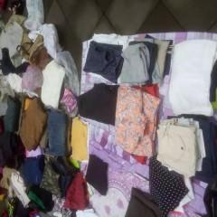 出售旧衣,夏季 ,冬季,牛仔裤均6成新以上