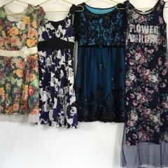 广州工厂专业出口二手丝质连衣裙
