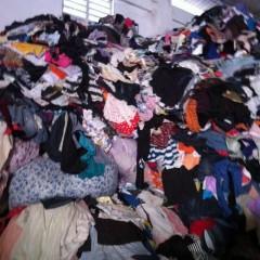 西安长期大量出售旧衣服夏装统货