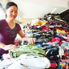 长期供应旧衣服、旧鞋子、旧包包