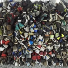Old shoes exported to Africa