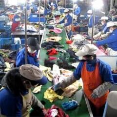 旧衣服上门回收*旧衣服社区垃圾分类*上海旧衣服加工衣循供