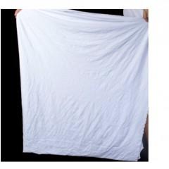 全棉白色花色擦机布供应,吸水吸油不掉毛工业抹布批发