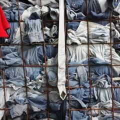 上海及其周边大量收购旧衣服统货。鞋子