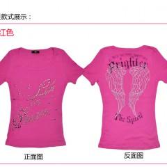 出口日本尾货,女式T恤