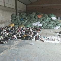 本公司常年回收且出口旧鞋子、旧包包、旧夏装