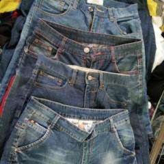 广州市万义新科技有限公司出口精品夏装--男牛七分裤