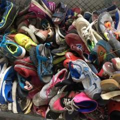 广州旧衣服工厂 面向全国 回收 优质二手鞋子