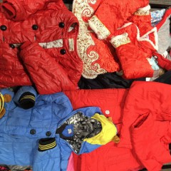 广州市万义新科技有限公司供应出口冬衣品种--冬小孩棉袄