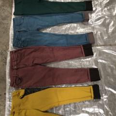广州市万义新科技有限公司供应出口冬衣品种--冬弹力小脚裤