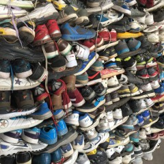 长期出口优质二手鞋子