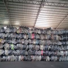 广州工厂出口优质二手鞋子AB货到赞比亚