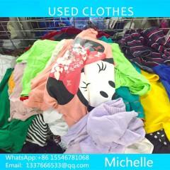 广州工厂出口优质二手旧衣服夏装到马达加斯加