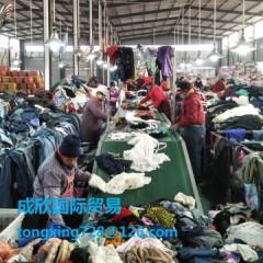 长期求购优质二手旧衣服,服装,用于出口