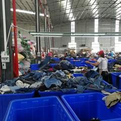 急需采购优质旧衣服原材料统货