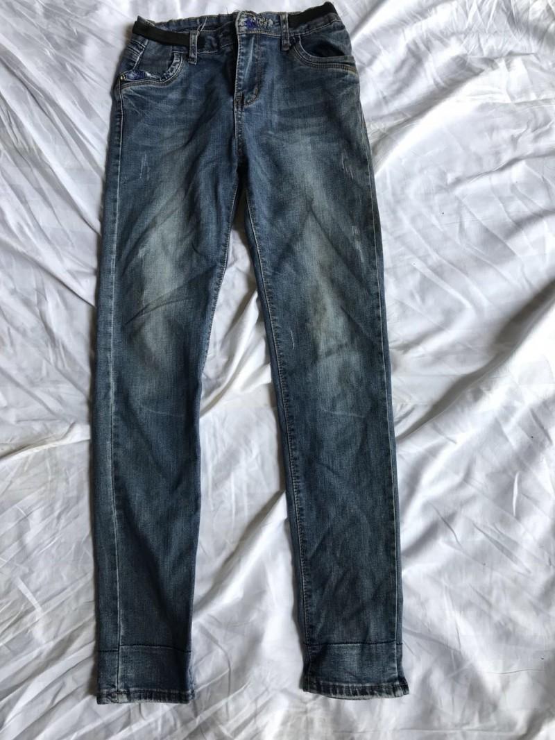 女牛仔小脚裤B2
