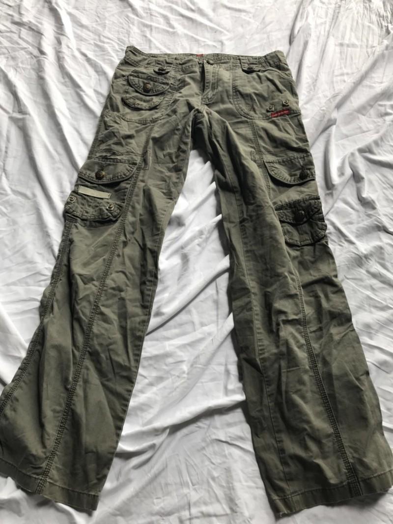 多袋长裤A3