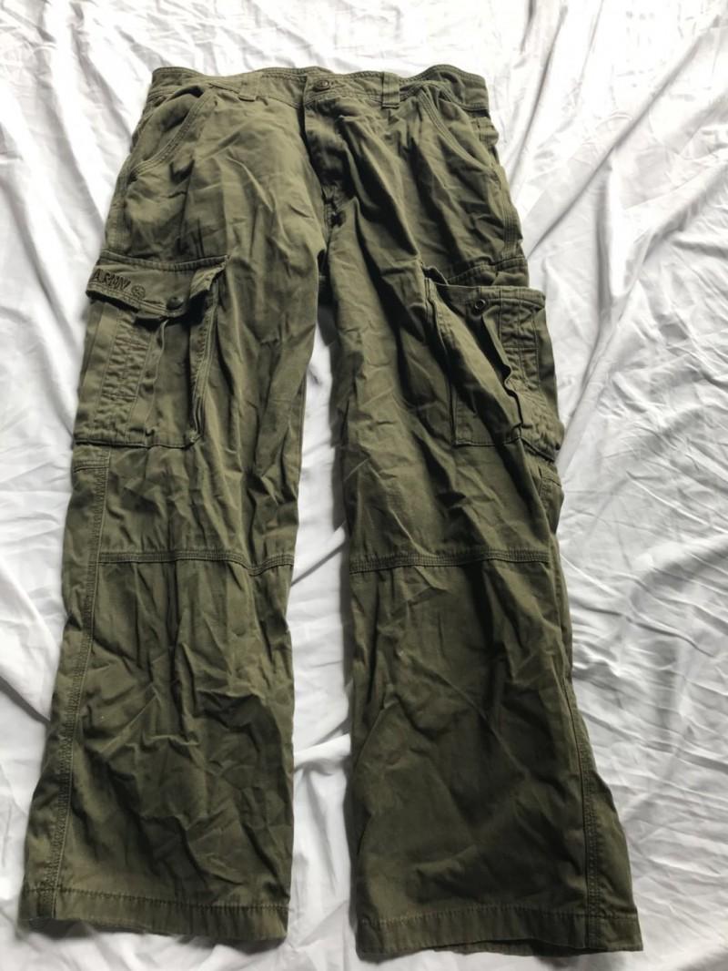 多袋长裤A4