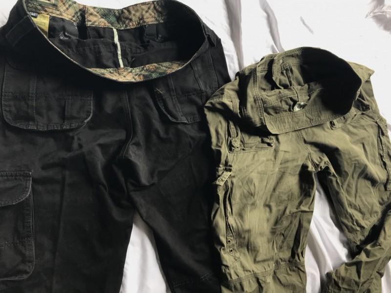 多袋长裤A6