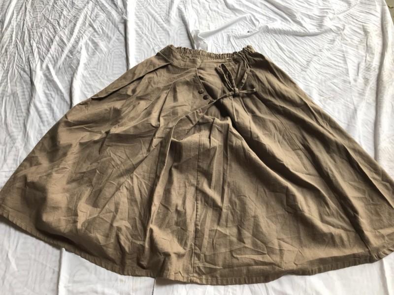 棉半身裙2