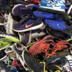 广东东莞工厂长期出口优质二手鞋 库存鞋 新鞋