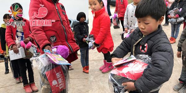 白鲸鱼联合卓卷教育贵州捐赠反馈