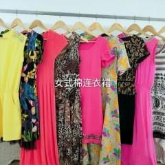 女式棉连衣裙