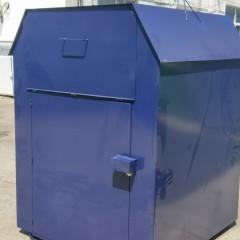 出口美国旧衣回收箱 鞋帽回收柜