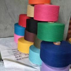 温州工厂大量生产再生棉纱,再生纱线!!!