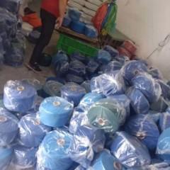 温州工厂大量生产再生棉线!!!