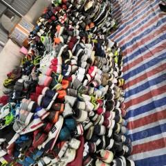 广州精品出口  非洲东南亚二手旧鞋
