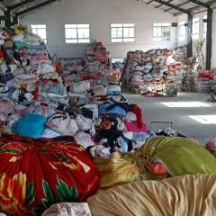 江苏地区长期供应夏装、冬装、羊毛衫、羽绒服、擦机布等