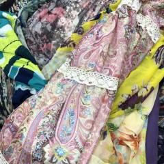 纱料连衣裙