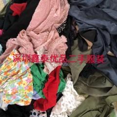 批发出口各种旧衣服,二手服装,丝质长裙