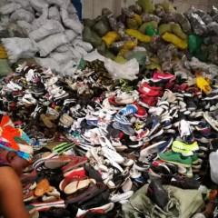 广州工厂长期专业出口二手鞋子衣服包包