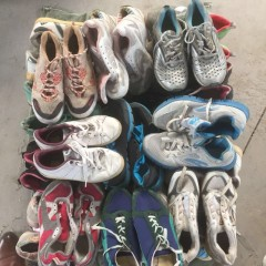 广州二手鞋子/八成新旧鞋子/出口非洲鞋子/A级B级旧鞋子