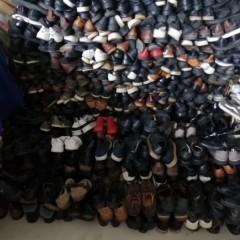 大量回收皮鞋