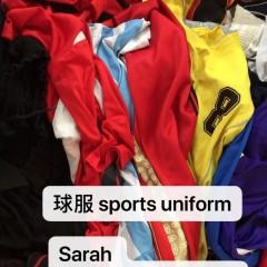 出口二手衣服, 非洲,东南亚,中东 , 夏装球服