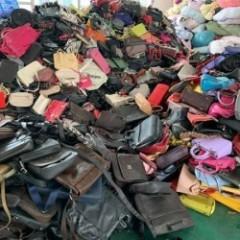 广州工厂长期专业出口二手皮包 鞋子 夏衣