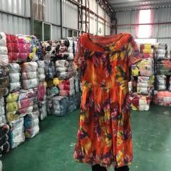 出口工厂专业供应女士连衣裙