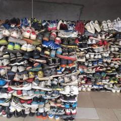 出售旧鞋,出口