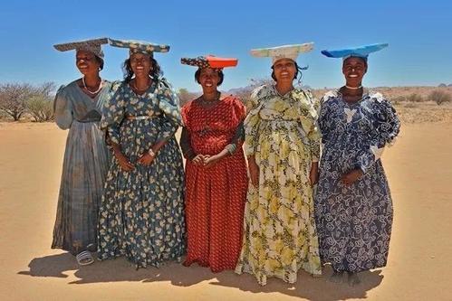 非洲连衣裙